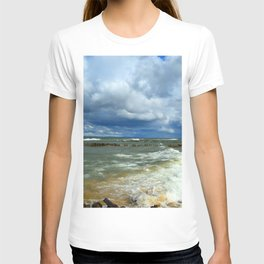 Waves at Whitefish Point T-shirt