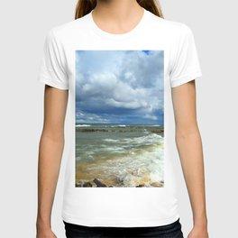 Waves at Whitefish Point T-shirt