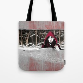 Not So Little Red Riding Hood Tote Bag