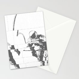Spacewalk Stationery Cards