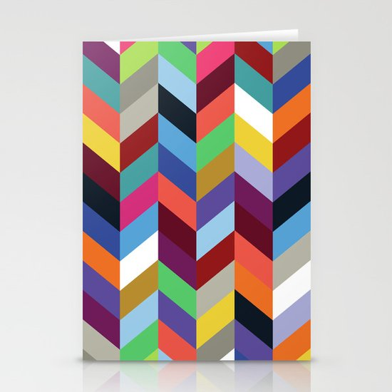Chevronica Series: Soirée Stationery Cards