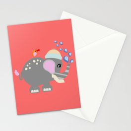 Baby Elphant Stationery Cards