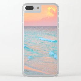 137. Amazing Sunset, Cuba Clear iPhone Case