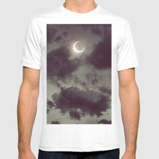 Nocturne II Mens Fitted Tee MEDIUM White