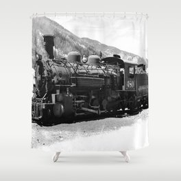 Durango - Silverton Engine 480 Shower Curtain