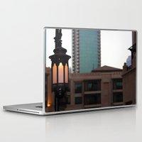 arab Laptop & iPad Skins featuring Dubai - Lamp outside Burj Al Arab by gdesai
