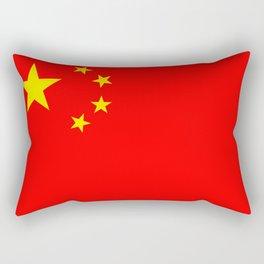 Chinese Flag Sticker & More Rectangular Pillow
