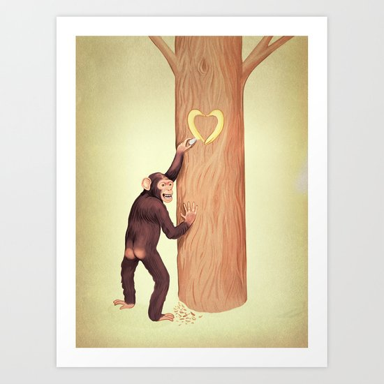 Show your love! Art Print