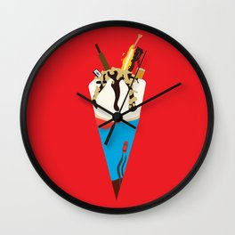 Edgar Wright Films Wall Clock