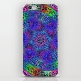 Liquid rainbow iPhone Skin