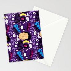 Sleepy Pattern Stationery Cards