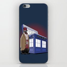 THE DOCTOR PEPPER  iPhone Skin
