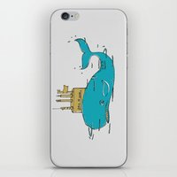 submarine iPhone & iPod Skins featuring SUBMARINE by yamini