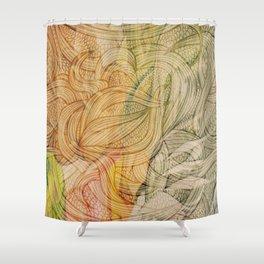 Iansan Shower Curtain