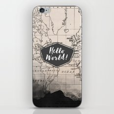 Hello World! iPhone & iPod Skin