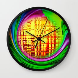 Abstract Perfection 30 Wall Clock