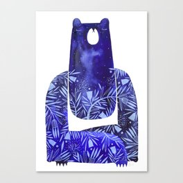 BlueBear Canvas Print