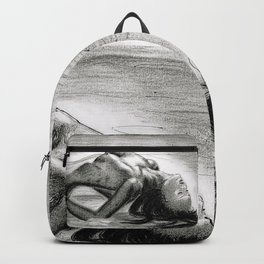 Passion in Black and White Backpack