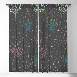 Blooming Inspiration Blackout Curtain