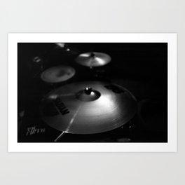Cymbals Art Print