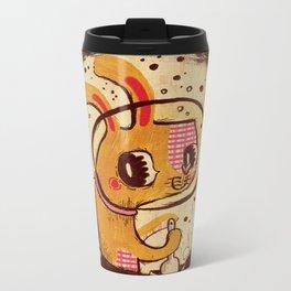 Jade Rabbit Metal Travel Mug