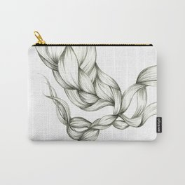 Whimsical Braids Carry-All Pouch
