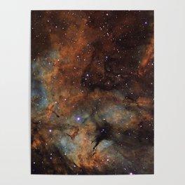 Gamma Cygni Nebula Poster