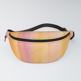9     190728   Romance Watercolour Painting Fanny Pack