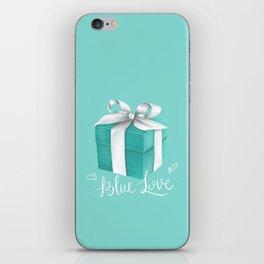 Blue Love iPhone Skin