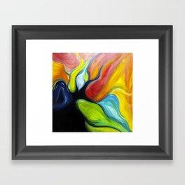 Lobe Framed Art Print