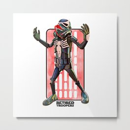Venom Trooper Metal Print