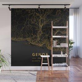 Genoa, Italy - Gold Wall Mural