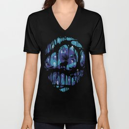 Deer God Unisex V-Neck