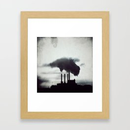 Light from another sun Framed Art Print