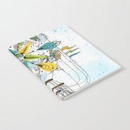 Hot Air Balloon Mandala Notebook