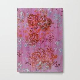 Lakshmi's Footprints Metal Print