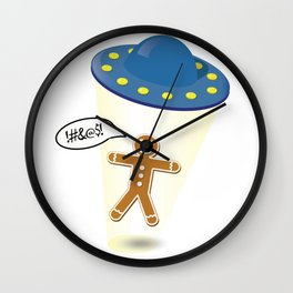 A Christmas Kidnapping Wall Clock