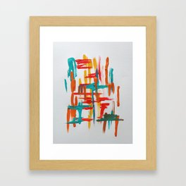 franklin study 1 Framed Art Print