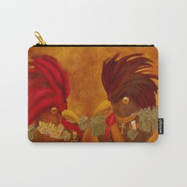 Roosters with Ranks / Galos com Galões Carry-All Pouch