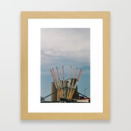 midwest midway Framed Art Print