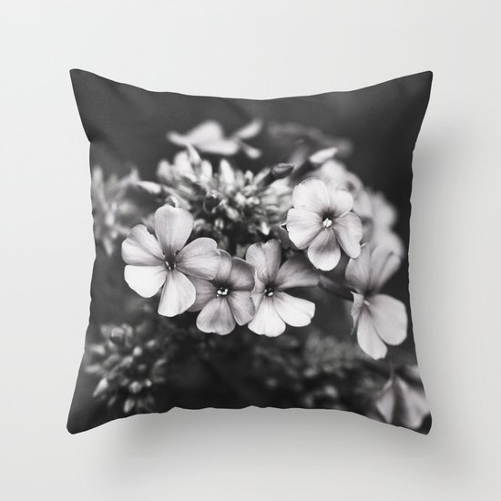 One hundred grey days  Throw Pillow