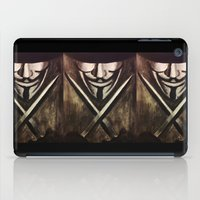 vendetta iPad Cases featuring VENDETTA by The Traveling Catburys