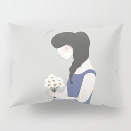 April showers bring May flowers Pillow Sham