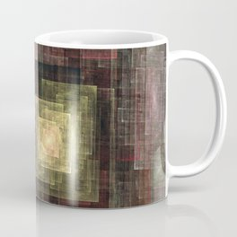 Earth Tones Squared Coffee Mug