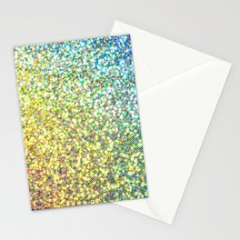 Glitter Rainbow Stationery Cards