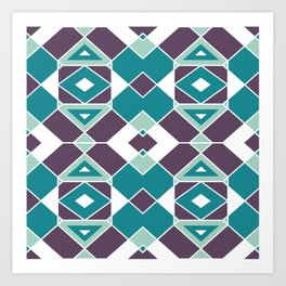 Geometric Pattern 2 Art Print