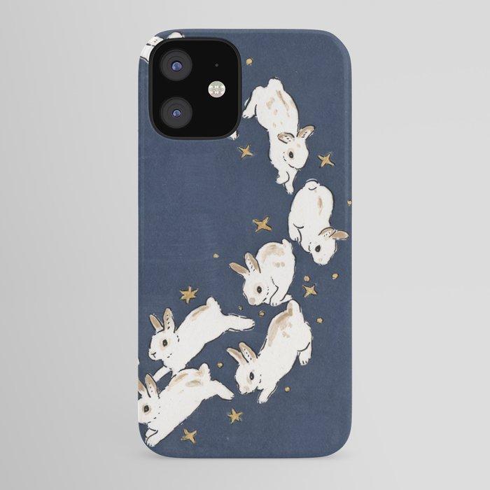 Rabbits run iPhone Case