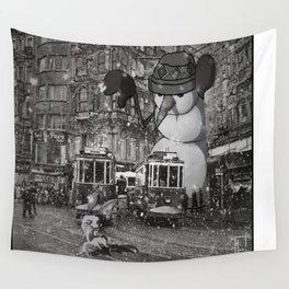 istiklal_snowman Wall Tapestry