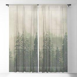 Ever-Green Sheer Curtain