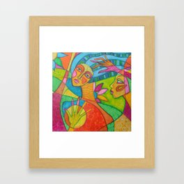 I don't know how to let you go Framed Art Print